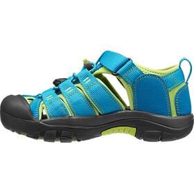 Keen Newport H2 Chaussures Enfant, hawaiian blue/green glow